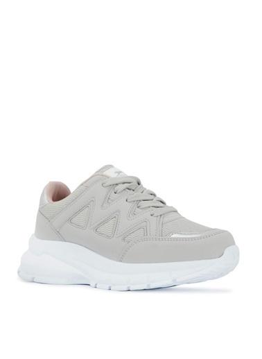 Slazenger Slazenger KAILA Sneaker Kadın Ayakkabı  Gri